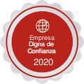 Medalla empresa digna de confianza 2020